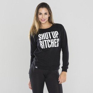 Saint Mass bluza Shut Up Crewneck black