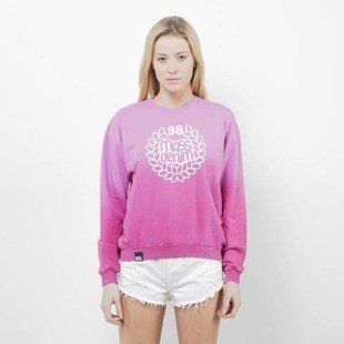 Saint Mass bluza crewneck Base Fade pink / red