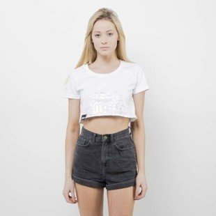 Saint Mass koszulka Crop Top Base white