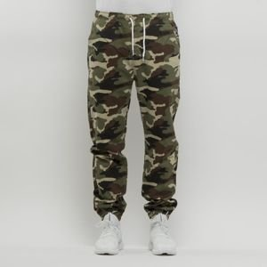 Spodnie Mass Denim Signature Joggers Sneaker Fit - woodland camo