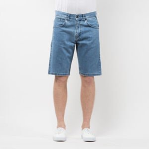 Szorty Mass Denim Shorts Jeans Dripline straight fit light blue SS 2017