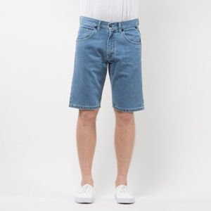 Szorty Mass Denim Shorts Jeans Flip straight fit light blue SS 2017