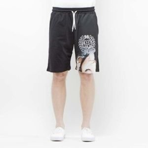 Szorty Mass Denim Shorts Mesh Ecstasy black SS 2017