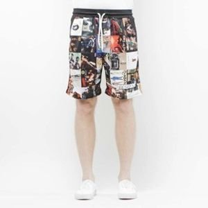 Szorty Mass Denim Shorts Mesh Golden Era multicolor SS 2017
