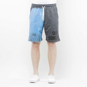 Szorty Mass Denim Sweatshorts Baller navy / dark heather grey SS 2017