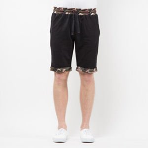 Szorty Mass Denim Sweatshorts Patrol black SS 2017