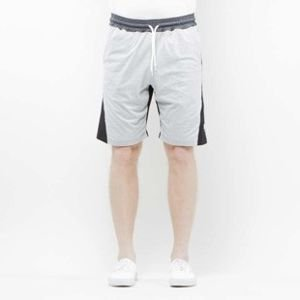 Szorty Mass Denim Sweatshorts Sprint black / light heather grey SS 2017