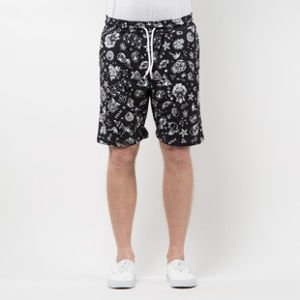 Szorty Mass Denim Sweatshorts Tattoo black SS 2017