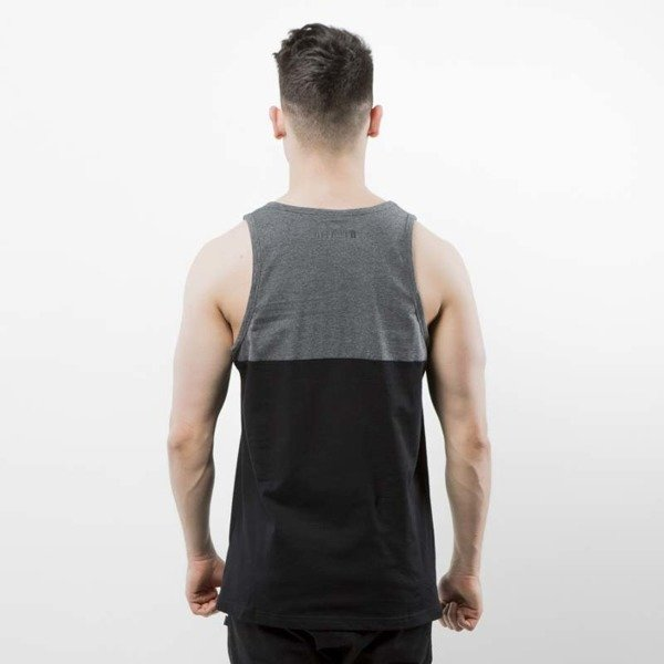 Koszulka Mass Denim Tank Top Classics Cut black / dark heather grey SS 2017