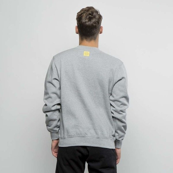 Mass DNM bluza Sweatshirt Crewneck Work - medium heather grey