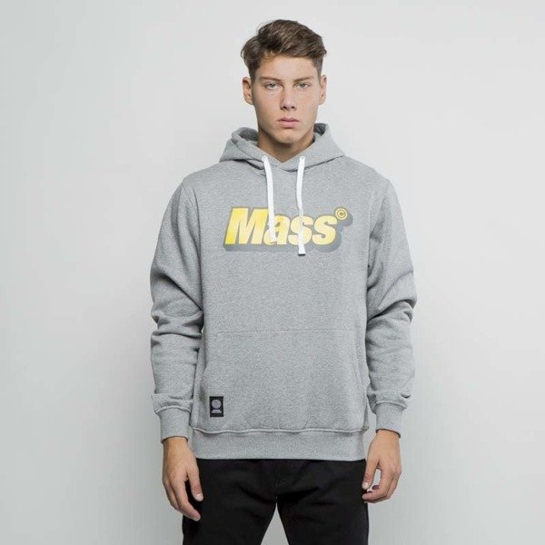 Mass DNM bluza Sweatshirt Hoody Work - light heather grey