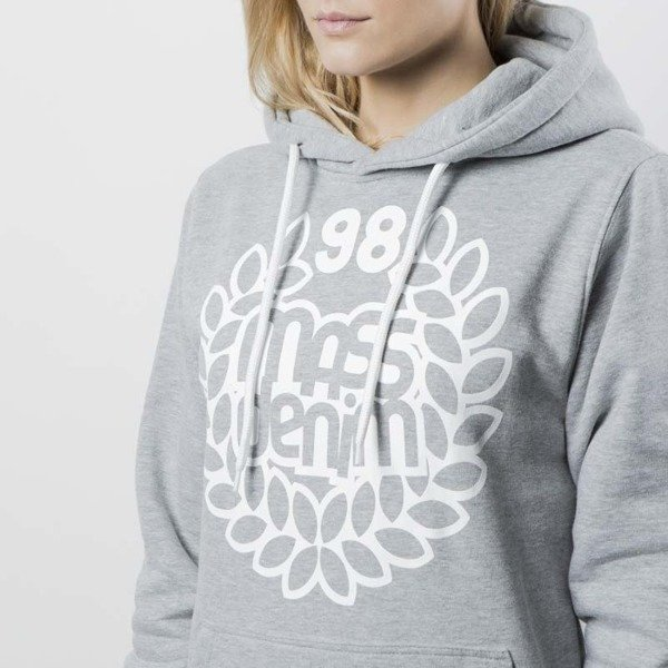 Mass DNM damska bluza Sweatshirt Hoody Base WMNS - light heather grey