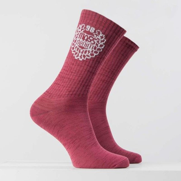 Mass DNM skarpety Socks Base - heather claret