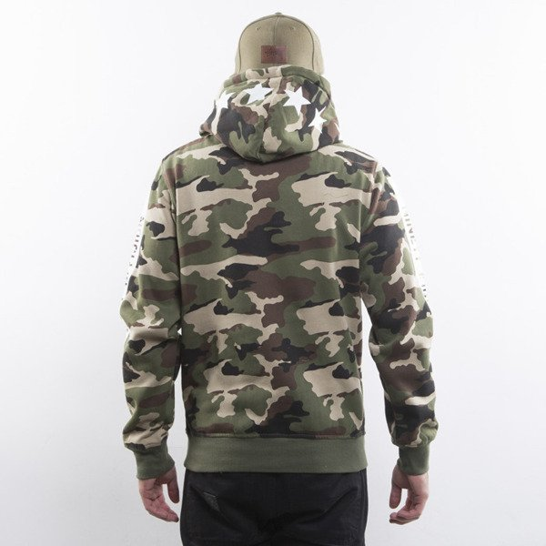Mass Denim bluza Woodland Hoody camo