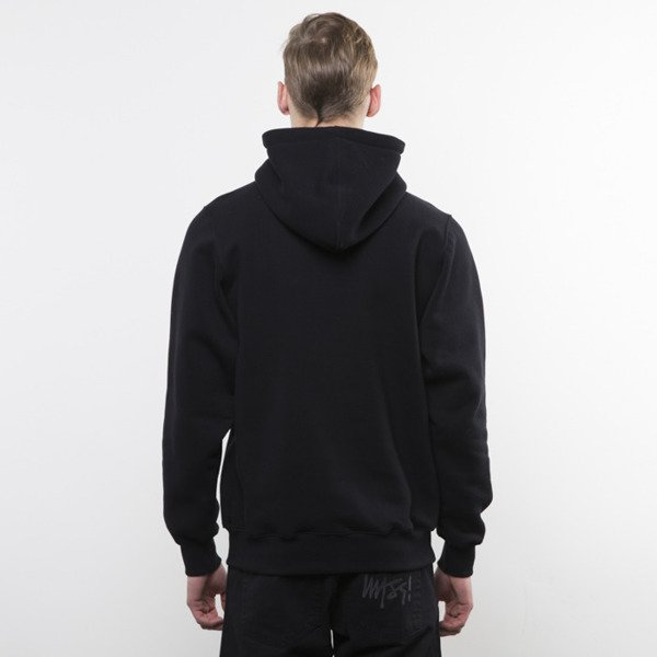 Mass Denim bluza hoody Signature Handmade black