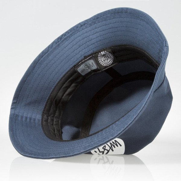 Mass Denim kapelusz bucket hat Signature steel blue