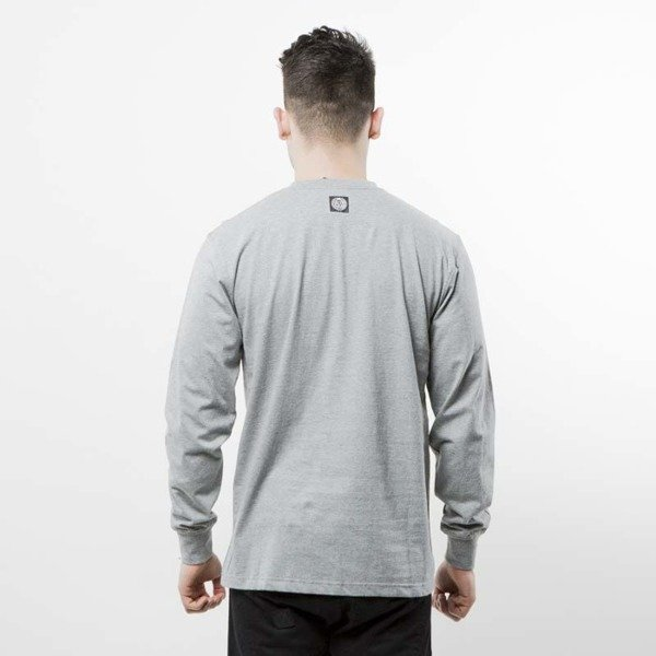 Mass Denim koszulka Display Longsleeve light heather grey