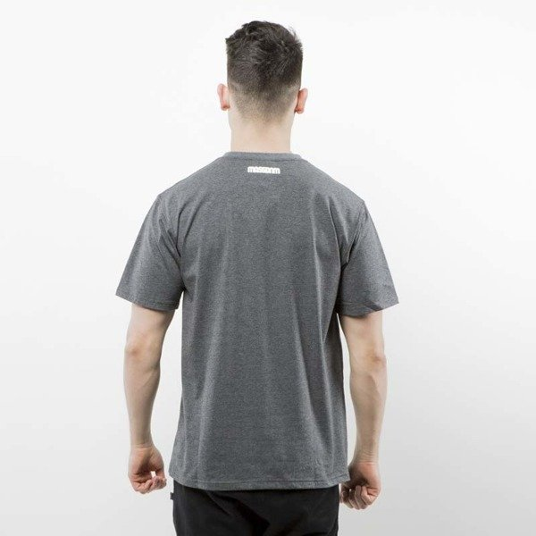 Mass Denim koszulka T-shirt Classics dark heather grey SS 2017
