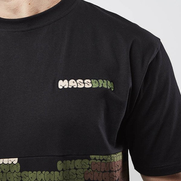 Mass Denim koszulka T-shirt Phat Camo black SS 2017