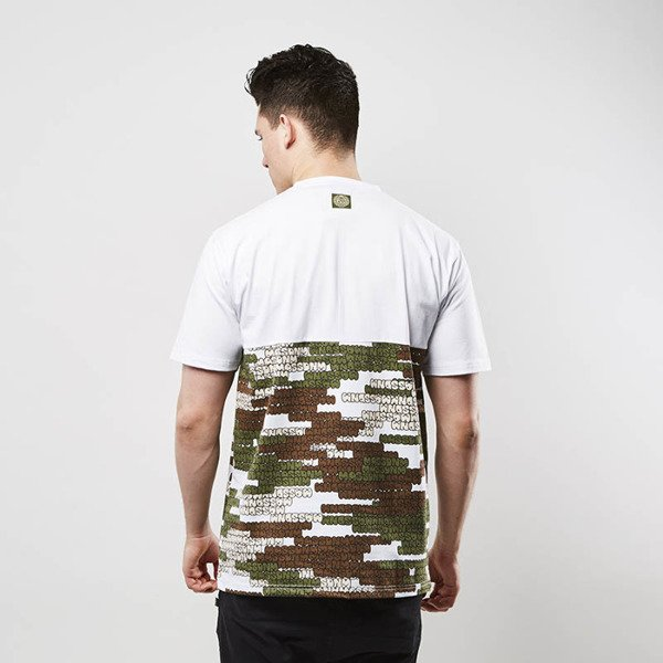 Mass Denim koszulka T-shirt Phat Camo white SS 2017