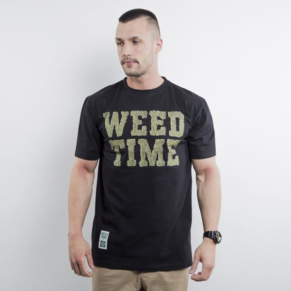 Mass Denim koszulka Weed Time black