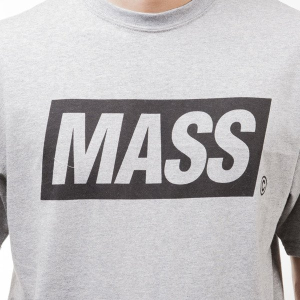 Mass Denim koszulka t-shirt Cover light heather grey