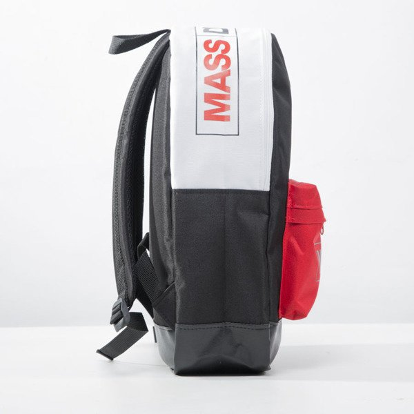 Mass Denim plecak backpack Conversion black / white / red BLAKK