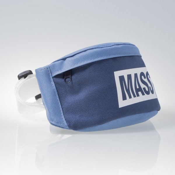 Mass Denim saszetka hip bag Horizon steel blue / navy