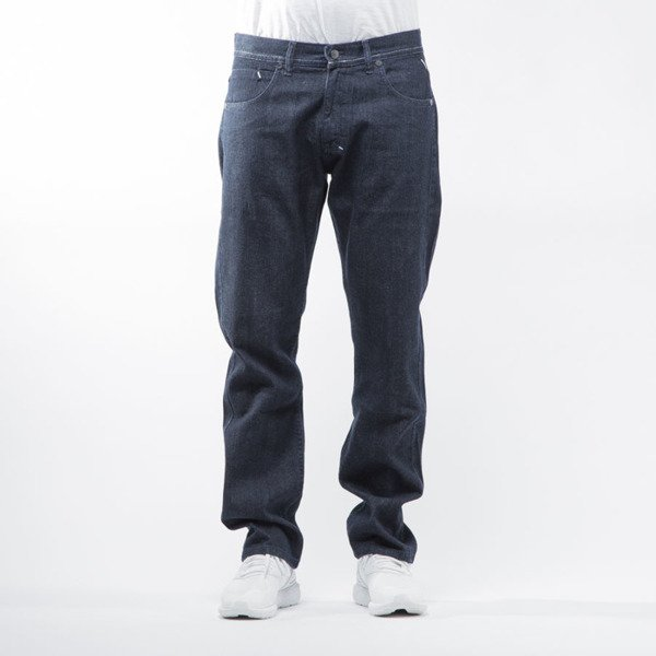 Mass Denim spodnie jeans Stamp regular fit rinse