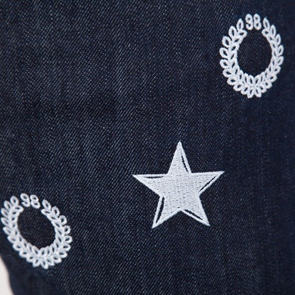 Mass Denim spodnie jeans Stars tapered fit FW14 blue