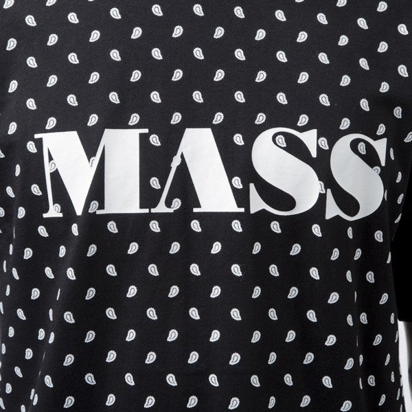 Mass Denim t-shirt koszulka  Bandana black BLAKK