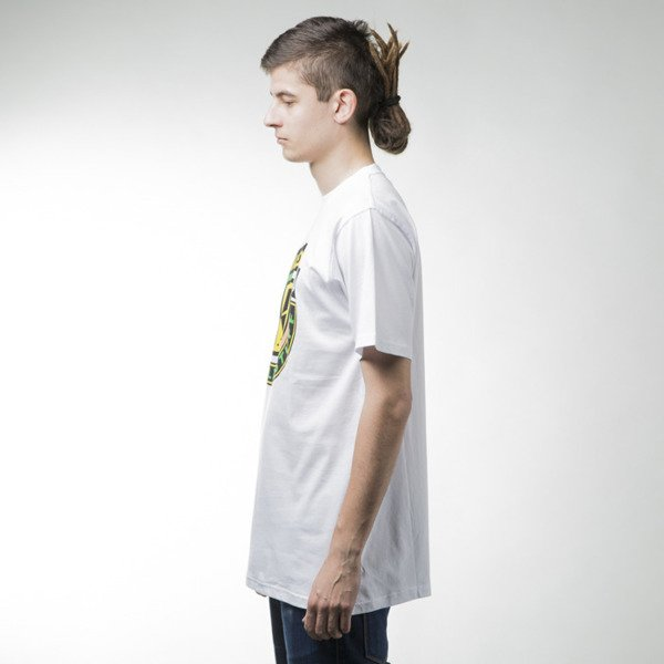 Mass Denim t-shirt koszulka Fine Malt white
