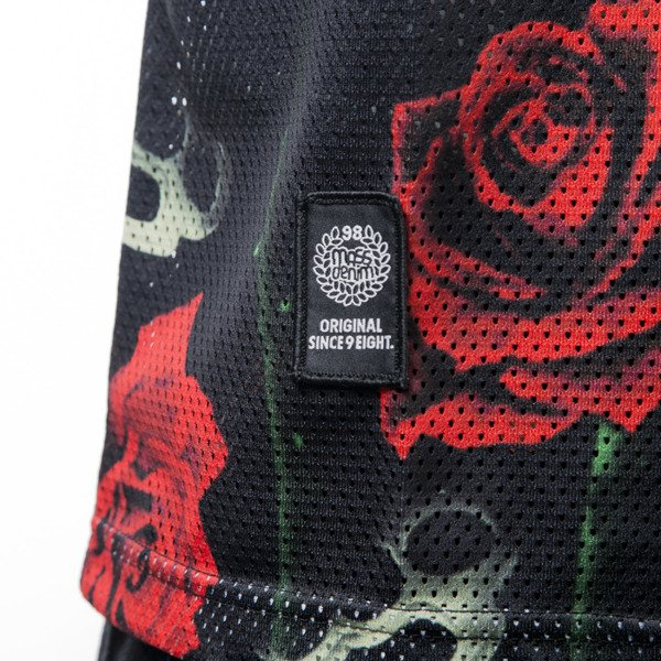 Mass Denim tank top koszulka Brass' N' Roses black