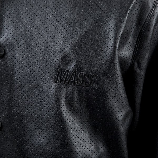 Mass Denim varsity jacket kurtka Supreme black
