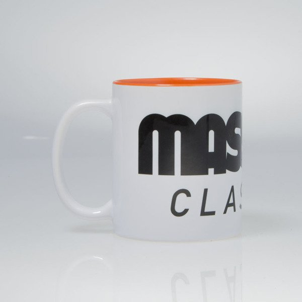 Massdnm kubek Classics Logo Mug white / orange