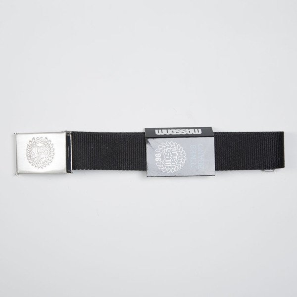 Pasek Mass Denim Base Belt black