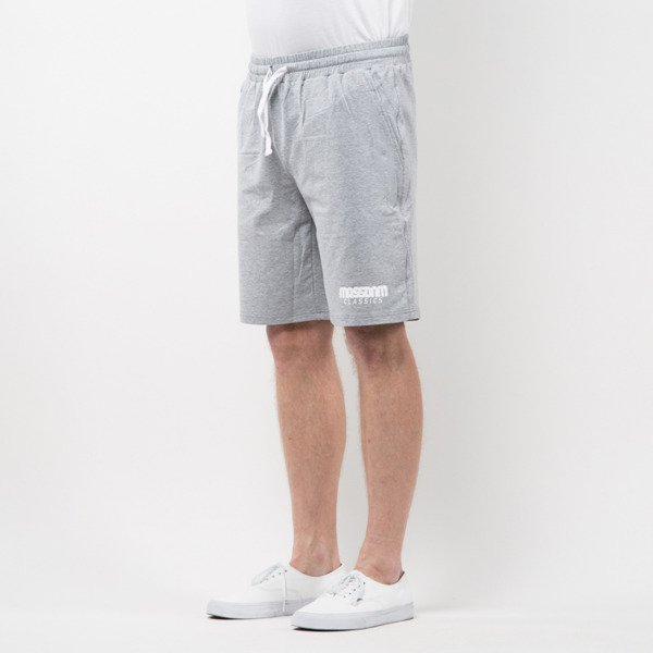 Szorty Mass Denim Sweatshorts Classics light heather grey SS 2017