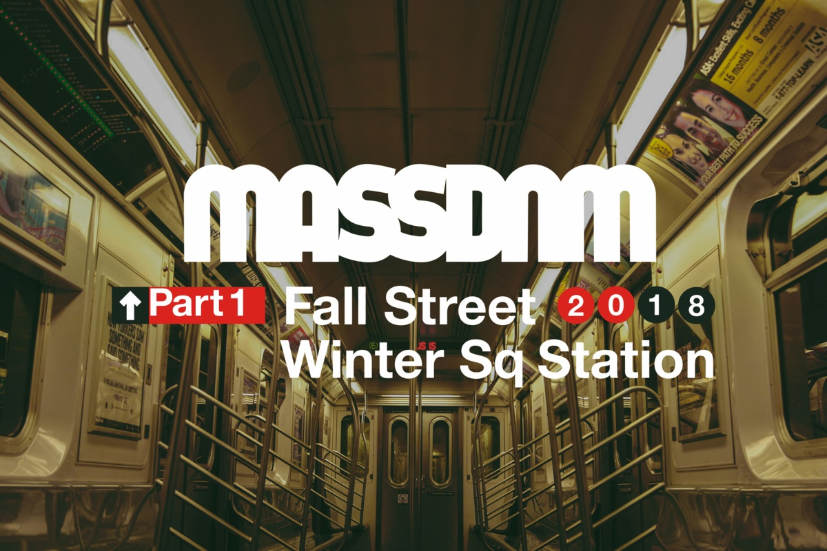Mass Dnm - fw18 - Street Sq Station