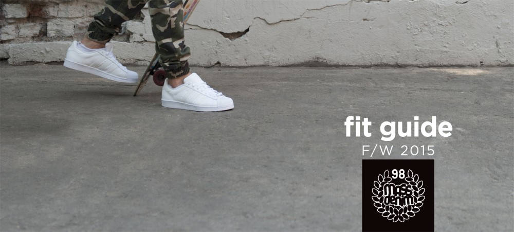 Fit Guide - Mass Denim fall/winter 2015