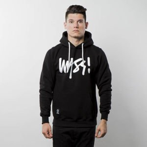 Bluza Mass Denim Sweatshirt Hoody Signature - black