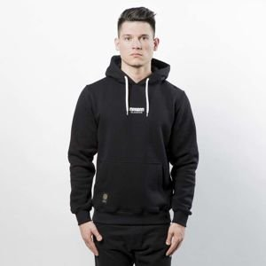 Mass DNM bluza Classics SL Embroidered Sweatshirt Hoody black LIMITED EDITION