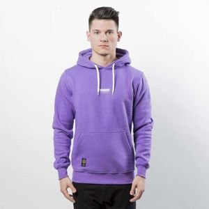 Mass DNM bluza Classics SL Embroidered Sweatshirt Hoody - purple LIMITED EDITION