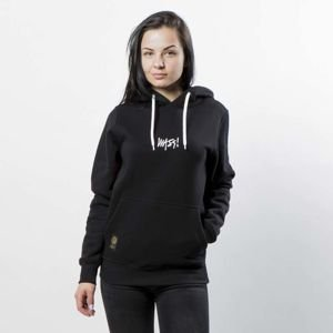 Mass DNM bluza Signature SL Embroidered Sweatshirt Hoody WMNS - black LIMITED EDITION