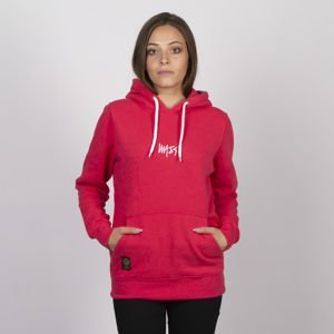 Mass DNM bluza Signature SL Embroidered Sweatshirt Hoody WMNS - pink LIMITED EDITION