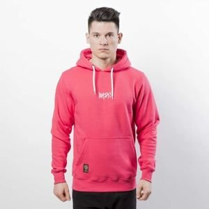 Mass DNM bluza Signature SL Embroidered Sweatshirt Hoody - pink LIMITED EDITION