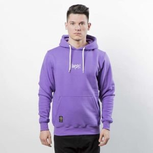 Mass DNM bluza Signature SL Embroidered Sweatshirt Hoody - purple LIMITED EDITION
