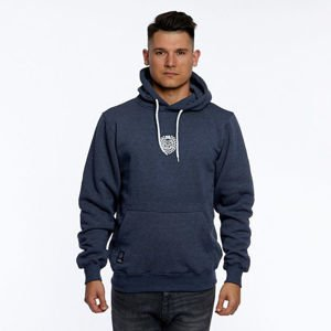 Mass DNM bluza Sweatshirt Base Small Logo Hoody - heather navy