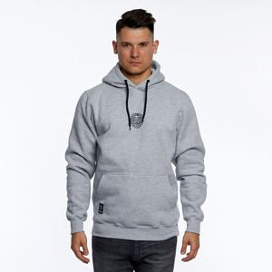Mass DNM bluza Sweatshirt Base Small Logo Hoody - light heather grey