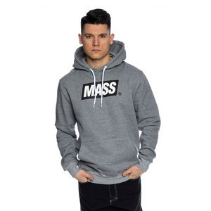 Mass DNM bluza Sweatshirt Big Box Hoody - jasnoszara