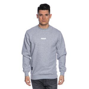 Mass DNM bluza Sweatshirt Crewneck Classics Small Logo - light heather grey FW19